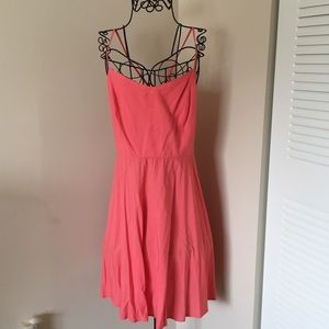NWT Old Navy Coral Strap Dress Size XL